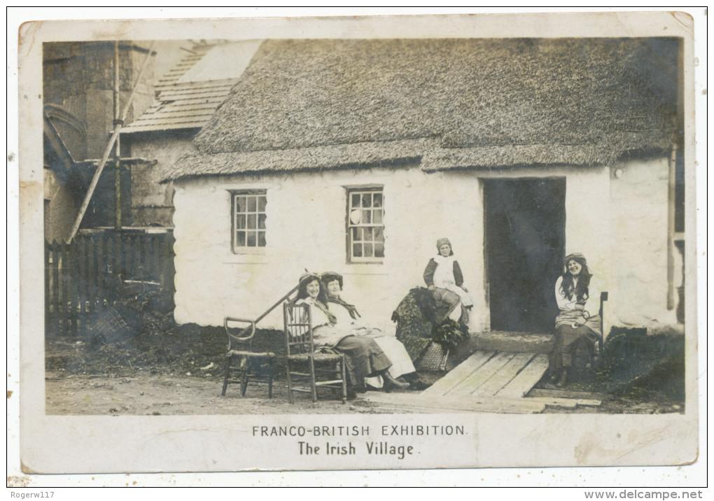 Franco-British Exhibition, The Irish Village, 1908 Postcard - Exhibitions