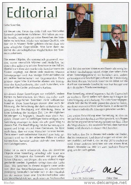 Magazin Neu Heft Wertvolles Sammeln MICHEL 3/2015 New 15€ With Luxus Informationen Of The World Special Magacine Germany - Alemán