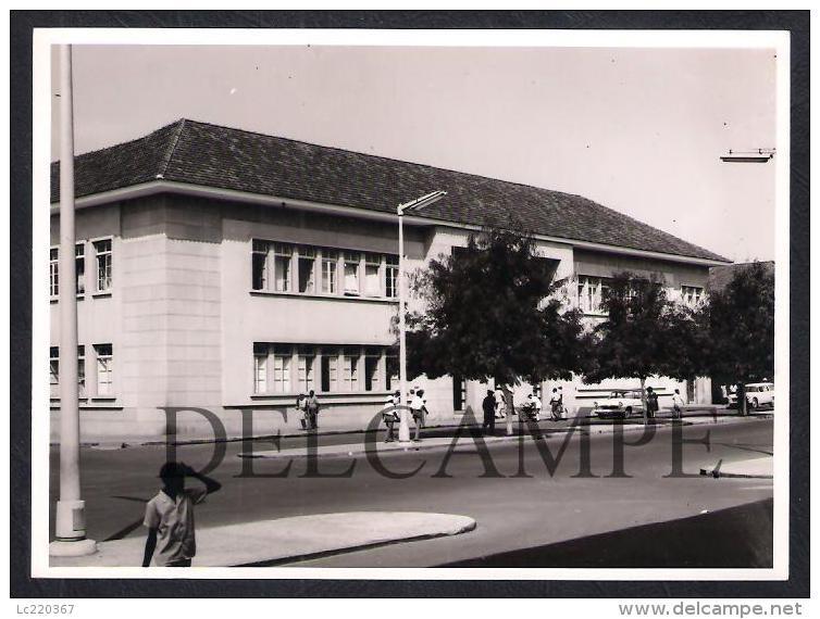 REAL PHOTO PORTUGAL GUINÉ-BISSAU CIDADE DE BISSAU - EDIFICIO DOS CTT - 1960'S (É UMA FOTO) - Guinea-Bissau