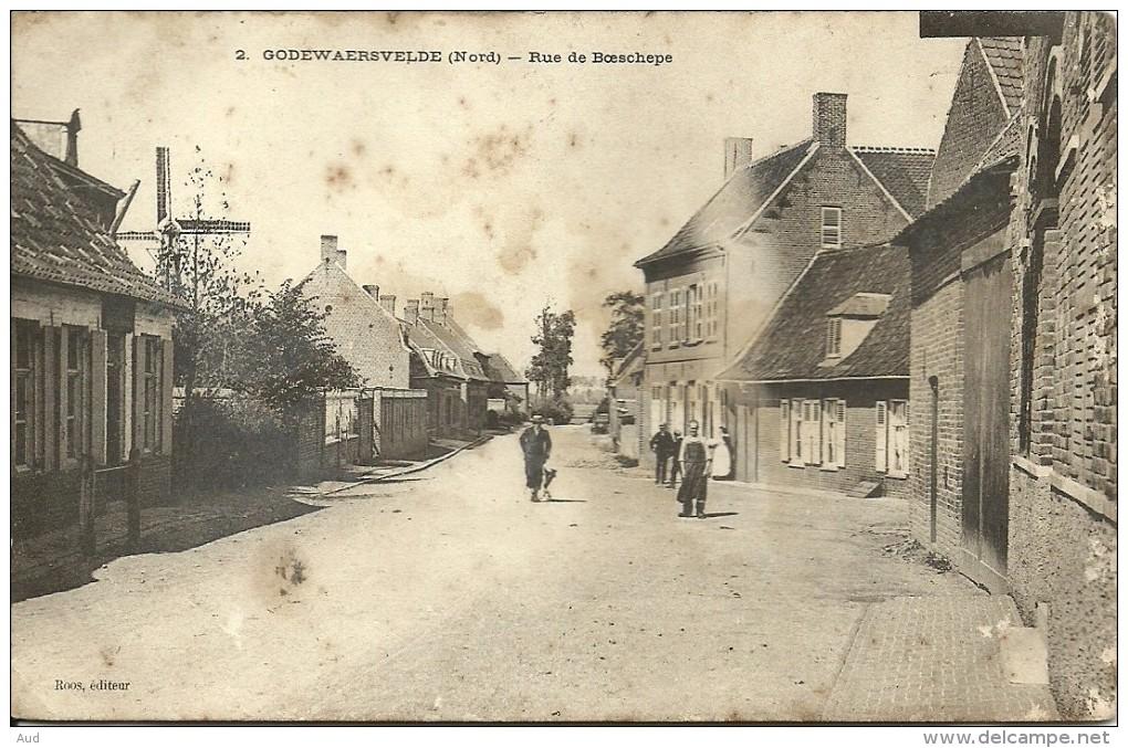 GODEWAERSVELDE, Rue De Boeschepe - France