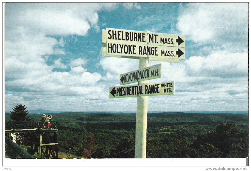 Near The Summit Of Hogback Mountain, Vermont - United States