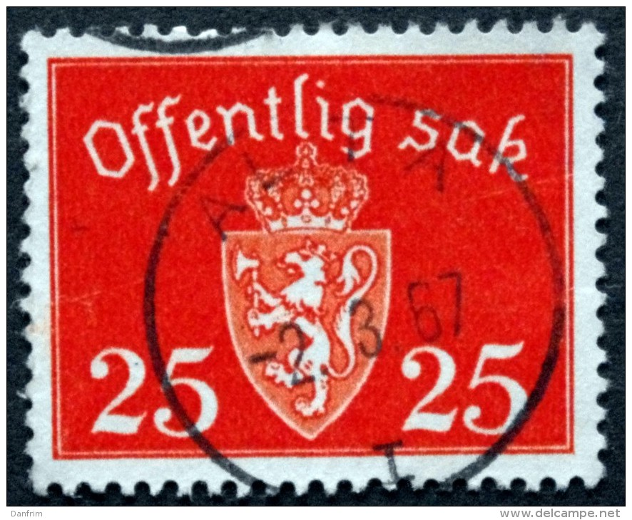 Norway  1946  Minr.55  ALTA 2-3-1967 ( Lot  C 412 ) - Service