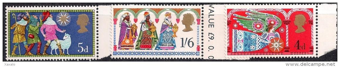 Great Britain 1969 - Christmas Mint - 1952-.... (Elizabeth II)