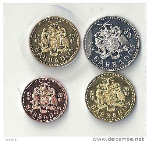 Monnaie Barbados : 1 Cent Et 5 Cents - Barbades