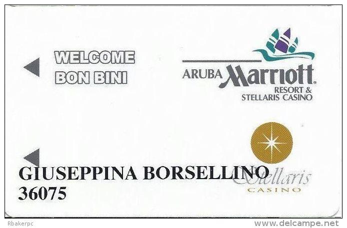 Marriott Stellaris Casino Aruba Casino Slot Card - Casino Cards