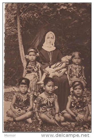 ILES SAMOA MISSIONS MARISTES D'OCEANIE SOEURS ENFANTS - Samoa Americana