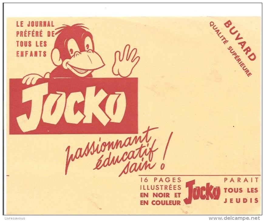 Buvard JOCKO Le Journal Préféré De Tous Les Enfants JOCKO Passionnant, éducatif Sain! - Papeterie