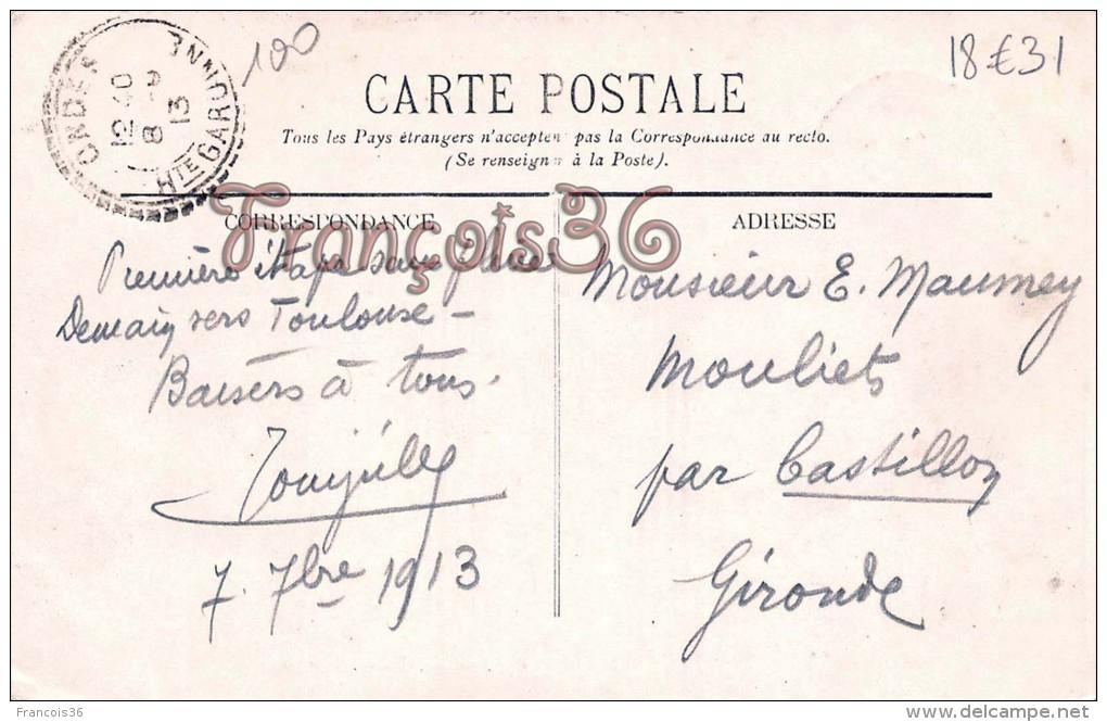 Saint St Rustice - Rue Principale - Charpentier Charpente Travaux - 2 SCANS - Other Municipalities
