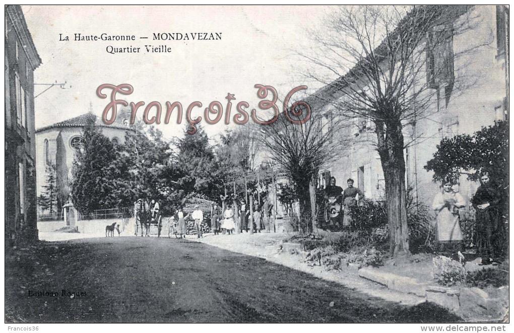 Mondavezan - Quartier Vieille - 2 SCANS - France
