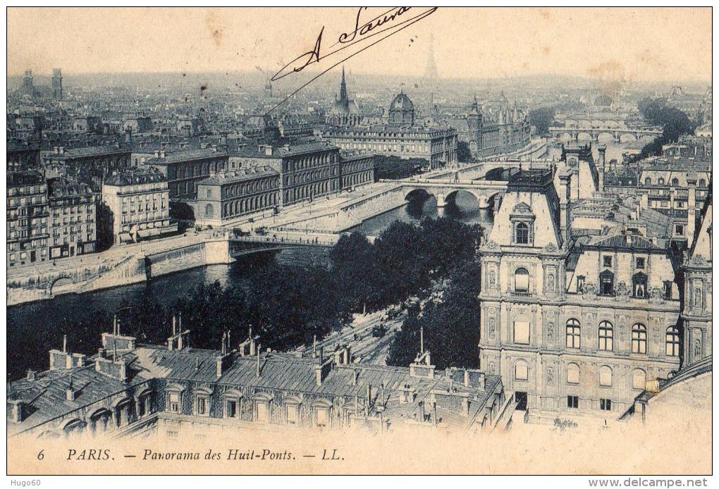 PARIS - Panorama Des Huits-Ponts - Multi-vues, Vues Panoramiques