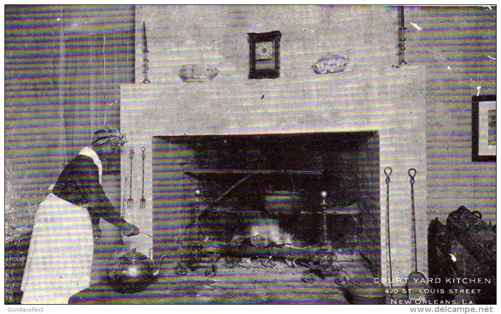 Court Yard Kitchen,New Orleans,  LA - New Orleans