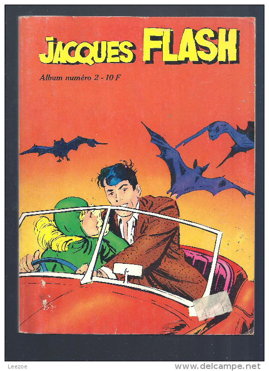 Album : Jacques Flash (Album) : N° 2, Recueil 2 (04, 05, 06) - Flash