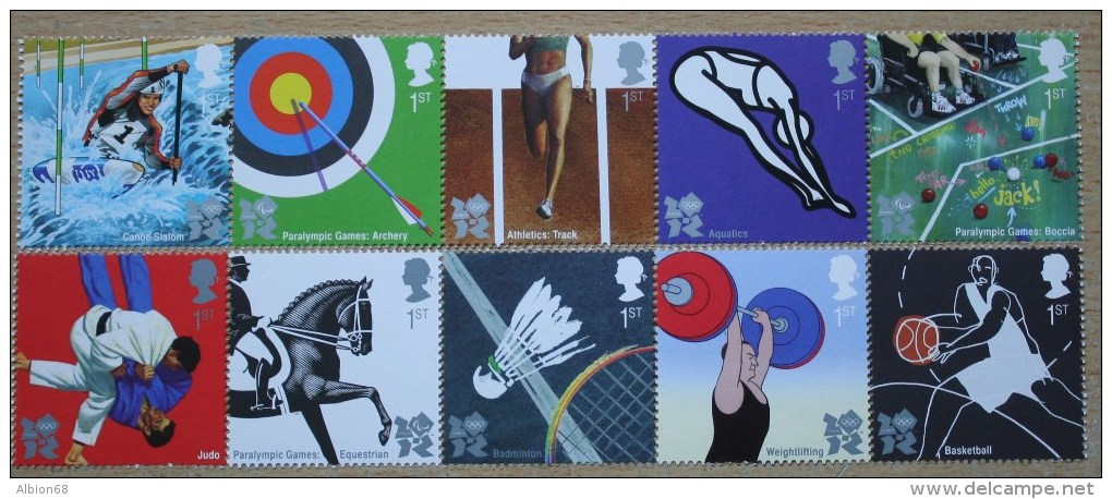 OLYMPIC AND PARALYMPIC GAMES 2009 - Nuevos