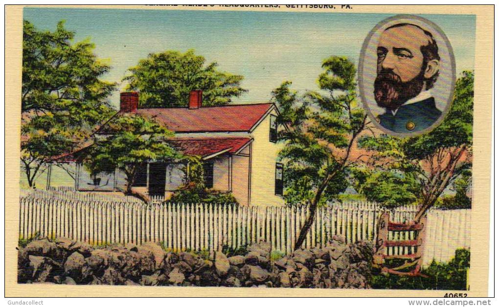 General Meade´s Headquarters,Gettysburg , Pennsylvania - United States