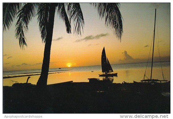 Guam Sunset At Cocos Island Resort - Guam