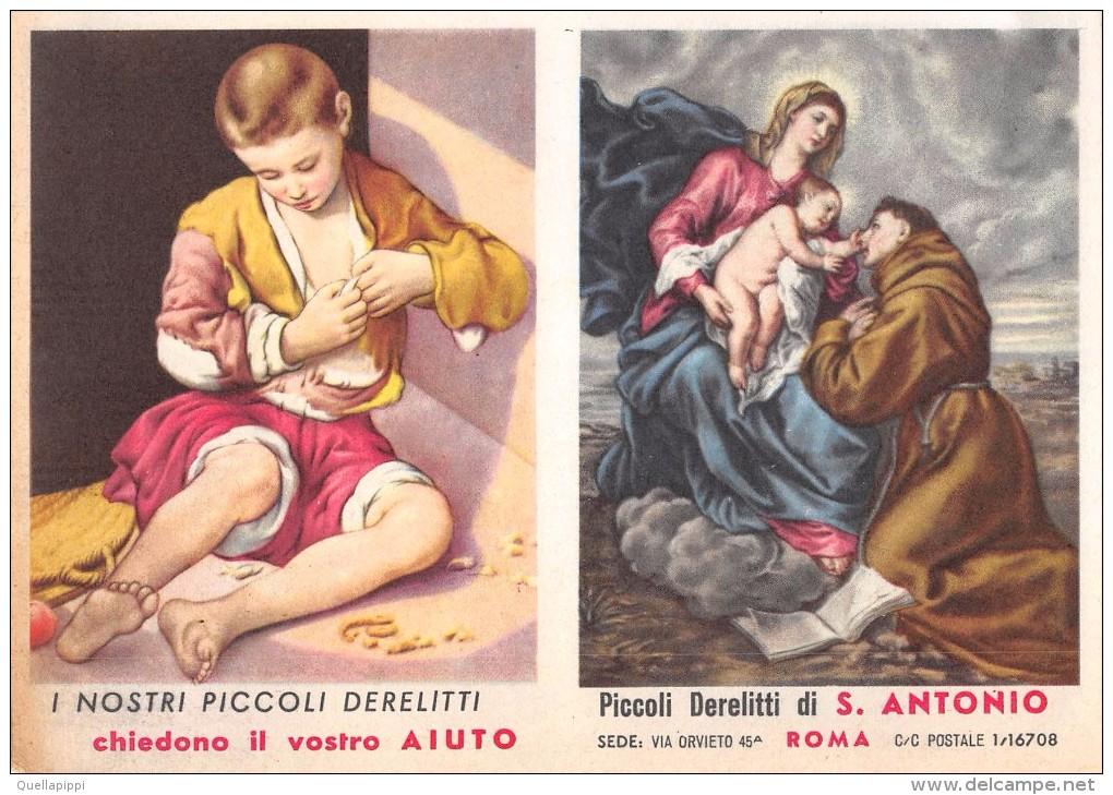 """02767 """"CALENDARIETTO - PICCOLI DERELITTI DI S. ANTONIO - ROMA - 1960"""" - Calendriers"""