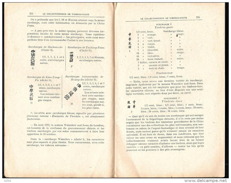 N°396 - 1 Er Octobre 1913 - Le Collectionneur De Timbres-poste - Arthur Maury  - Vifgo501 - Magazines