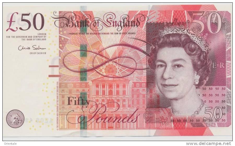 GREAT BRITAIN P. 393a 50 P 2010 UNC - 1952-… : Elizabeth II