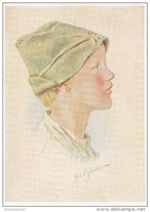 Künstler AK: Hedwig Von Schlieben - SEPPL - Karte Nicht Gel. - Künstlerkarten