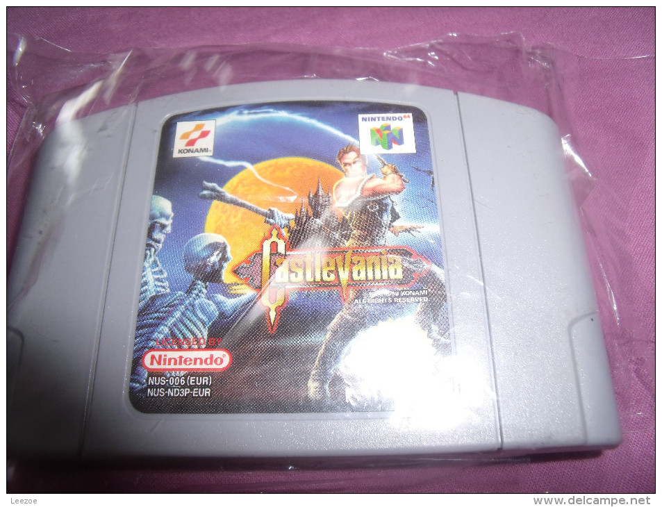 Jeu Castelvania Nintendo 64 - Nintendo 64