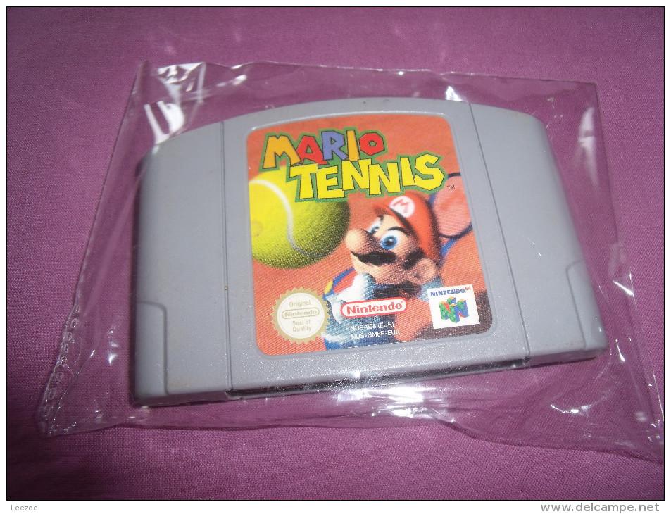 Jeu Mario Tennis Nintendo 64 - Nintendo 64