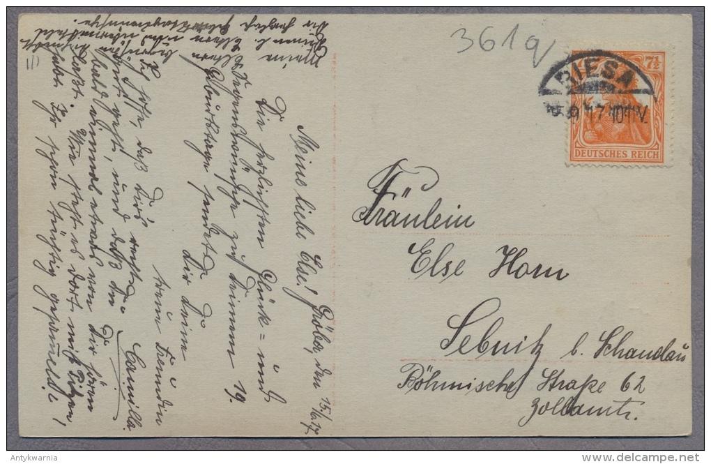FILLE PETITE FILLE - LITTLE GIRL -Mädchen   - Jolie Carte Fantaisie  1917y.     361q - Portraits