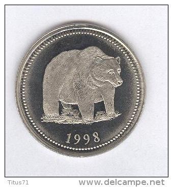 Dollar Souvenir Canada 1998 - Jasper Canada - Belle épreuve / Prooflike - Jetons & Médailles