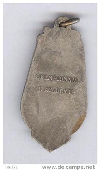 Médaille OSSU 1954 - Championnat D´académie - Jetons & Médailles