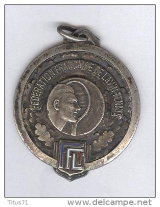 Médaille Fédération Française De Lawn Tennis - 1958 - Non Classés