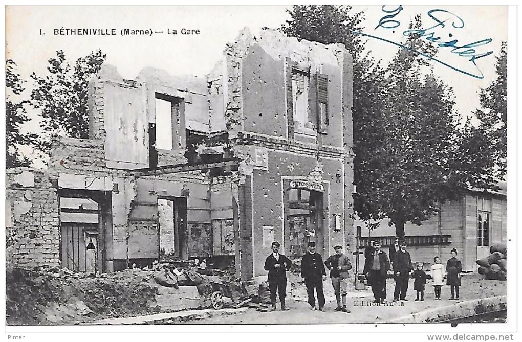BETHENIVILLE - La Gare - Bétheniville