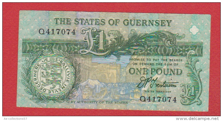 Guernesey //  1 Pound  // - Guernesey