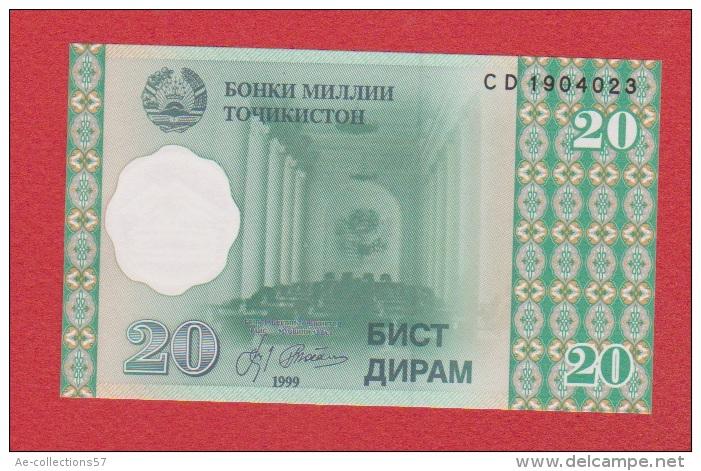 Tadjikistan //  20 Diram  //  2000  //  NEUF - Tadjikistan