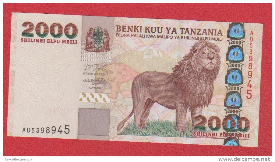 Tanzanie //  2000 Shilingi  //  NEUF - Tanzania
