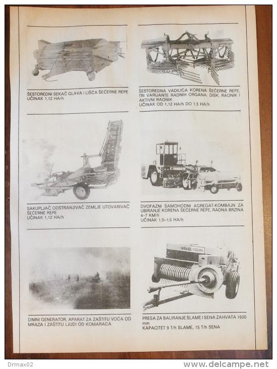 LIFAM Catalog Agricultural Machinery - Stara Pazova (Serbia) Yugoslavia / Tracteur Traktor - Tracteurs