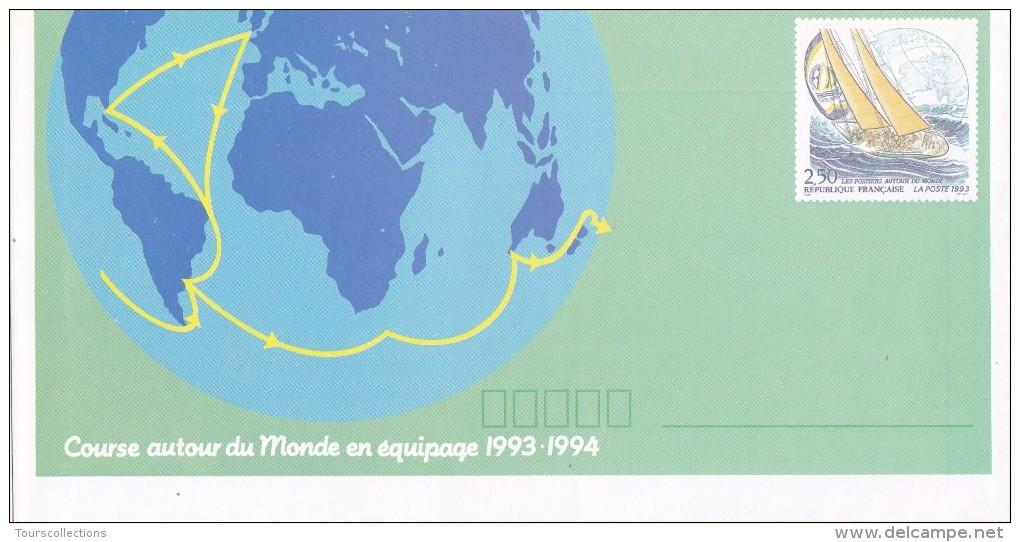 FRANCE @ Enveloppe Prêt à Poster Neuf Course Autour Du Monde Voilier 1993 - Entiers Postaux