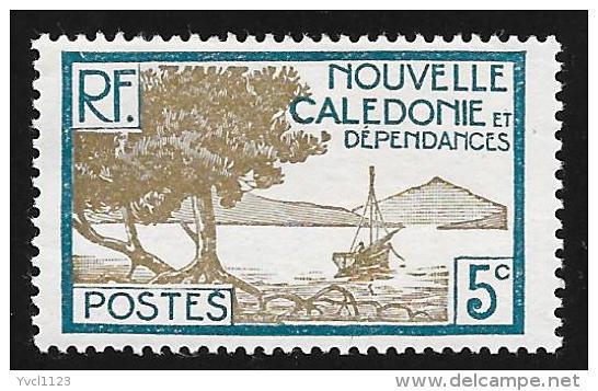 NEW CALEDONIA - Scott #139 Bay Of Palétuviers Point (*) / Mint H Stamp - New Caledonia