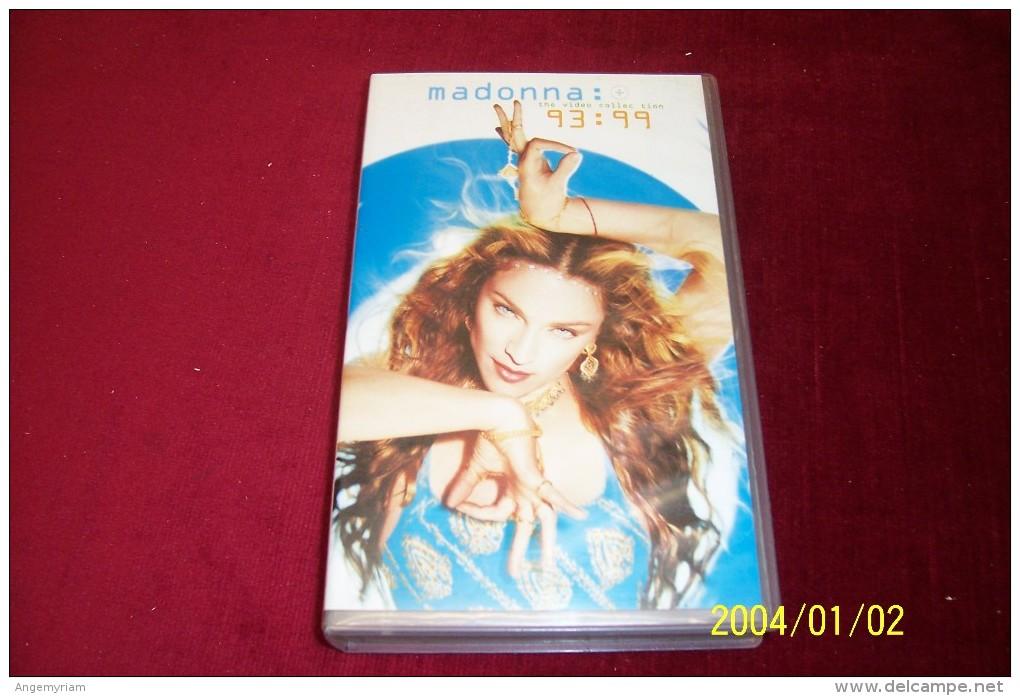 MADONNA  93 / 99 THE VIDEO COLLECTION - Concert Et Musique