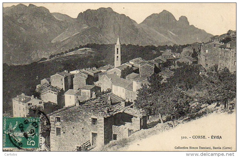2A  CORSE  EVISA - Autres Communes