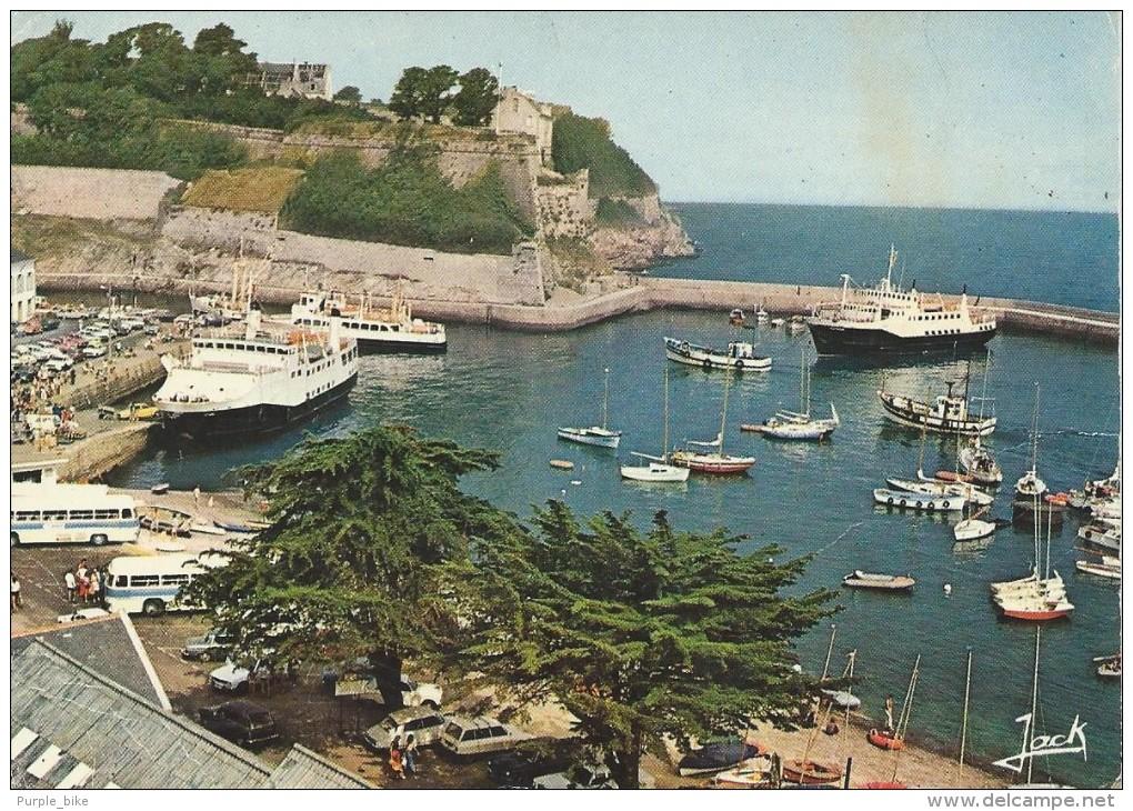 56 Belle Ile En Mer Le Port Du Palais Et La Citadelle Couleurs De Bretagne - Belle Ile En Mer