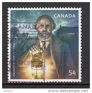 ##24, Canada, Abraham Doras Shadd, Abolitioniste, Abolitionist, Abolition De L'esclavage, Lanterne, Underground Railway - 1952-.... Règne D'Elizabeth II