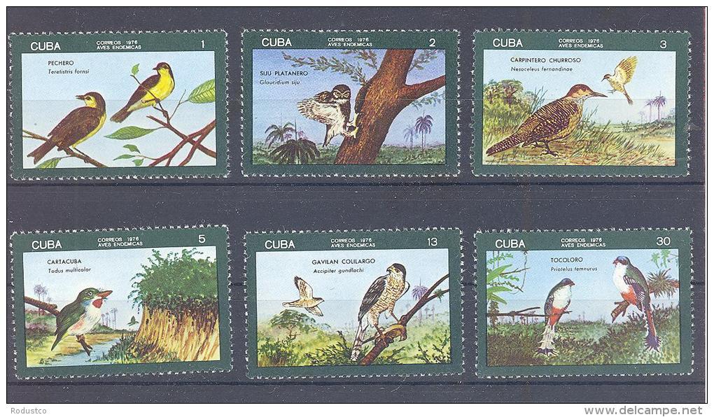 Michel #   2144 -449   **   Einheimische Vögel - Unused Stamps