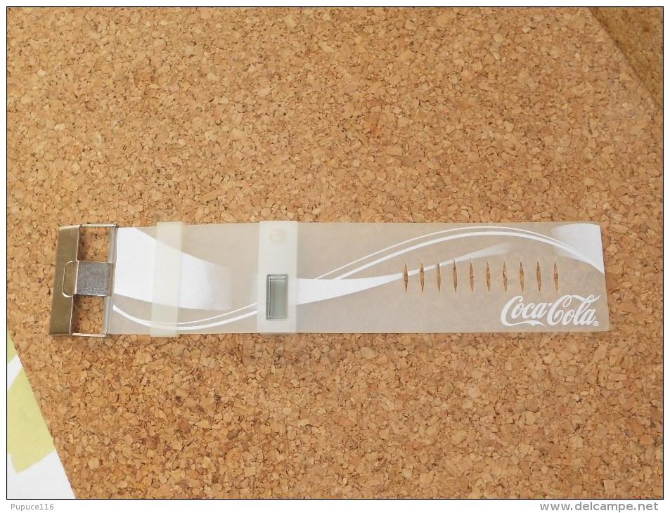 Montre Bracelet - COCA COLA - En état De Fonctionnement - Montres Publicitaires