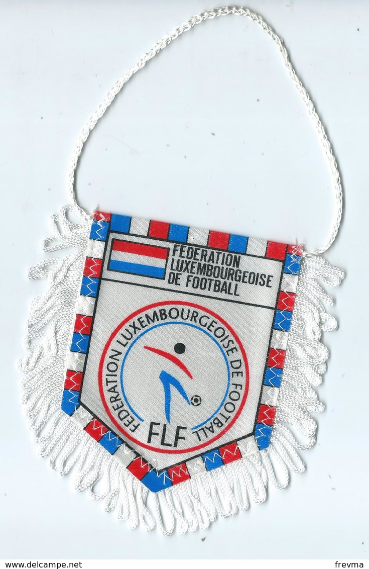 Fanion Football Federation Luxembourgeoise De Football - Apparel, Souvenirs & Other