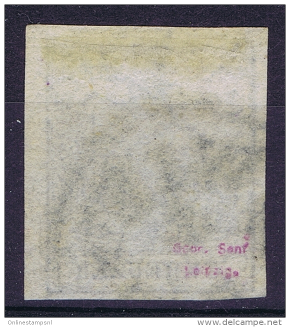Austria: Mi Nr 2 Y Gebraucht/used/obl. Signed/ Signé/signiert - 1850-1918 Impero