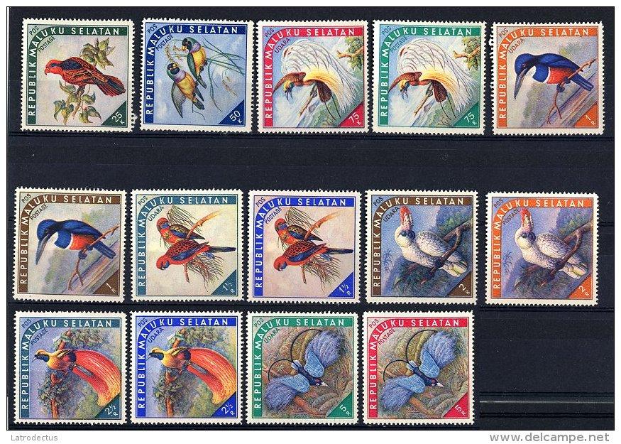 Indonesia - Maluku Selatan - Birds ** - Vignettes De Fantaisie