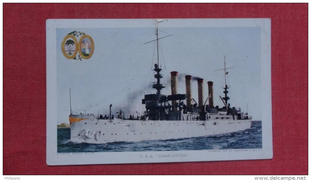 USS Charlestown Ref  2073 - Krieg