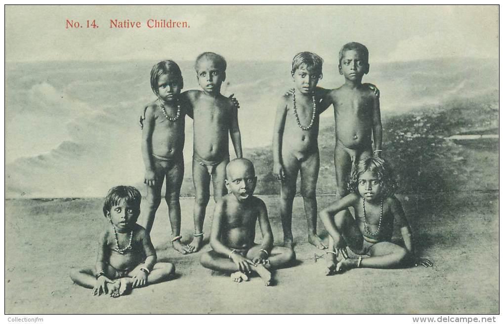 "CPA SRI LANKA  ""Enfant"" / NU - Sri Lanka (Ceylon)"
