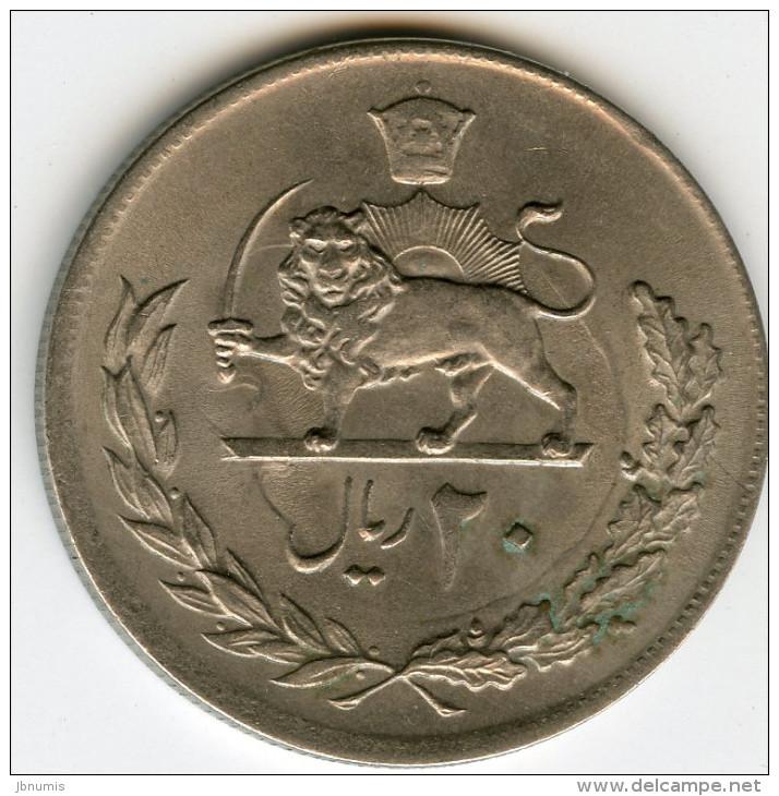 Iran 20 Rials 1354 / 1975 KM 1181 - Iran