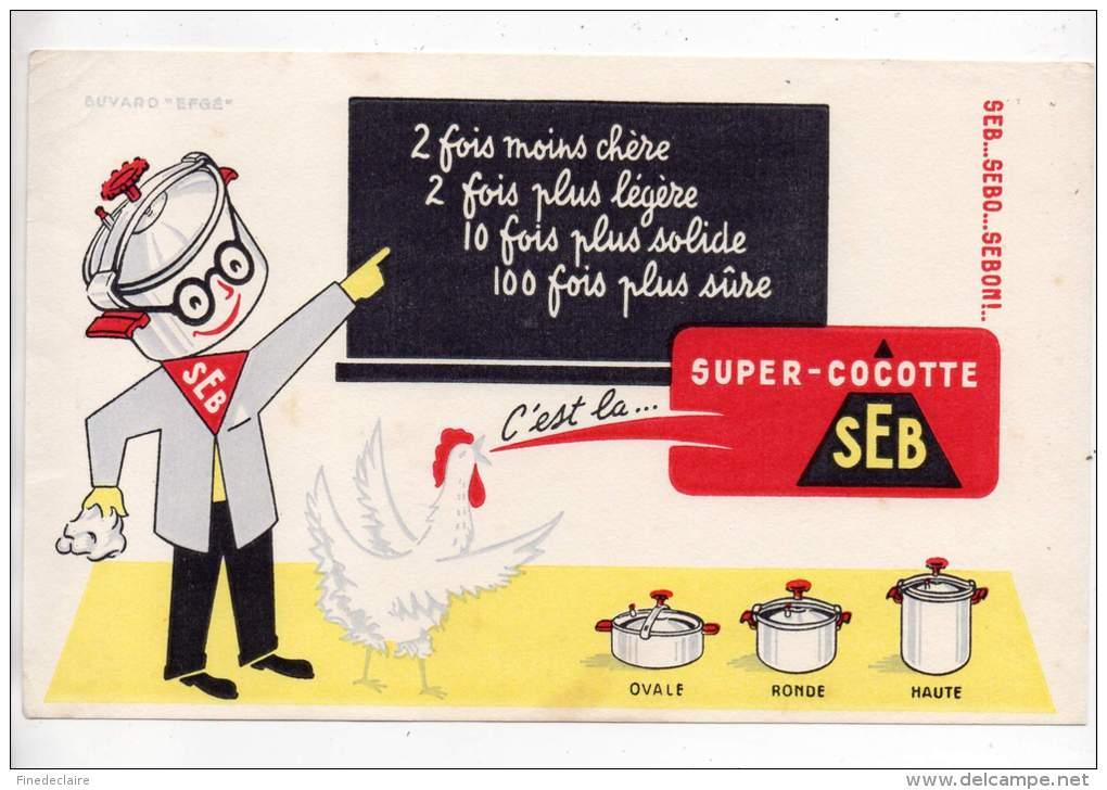 Buvard - Super Cocotte SEB - Buvards, Protège-cahiers Illustrés