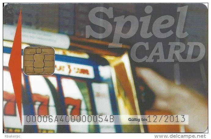 Casino Insbruck Austria Spiel Card 10/07 - Casino Cards